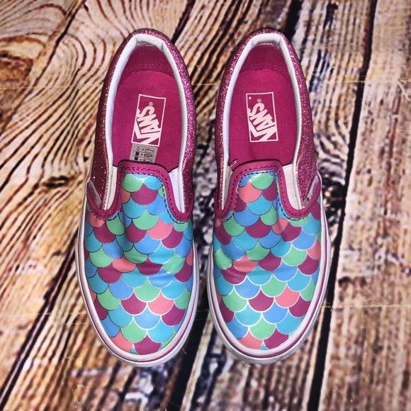 Vans Shoes | Vans Mermaid Scale Slide